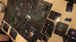 The Expanse Board Game in play